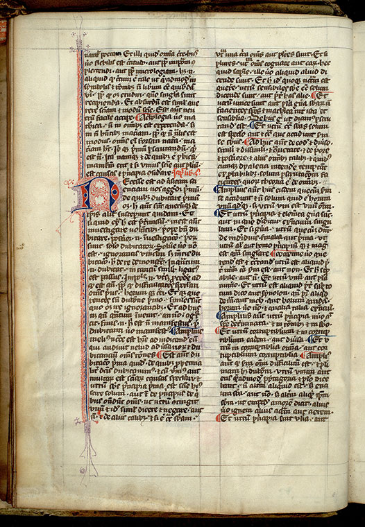 Paris, Bibl. Mazarine, ms. 3460, f. 007v