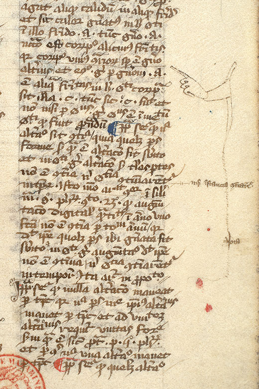 Paris, Bibl. Mazarine, ms. 3492, f. 036