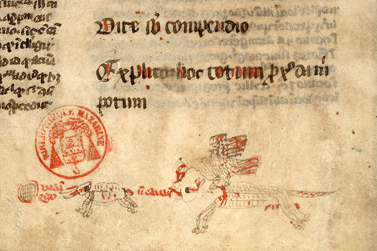 Paris, Bibl. Mazarine, ms. 3493, f. 240v
