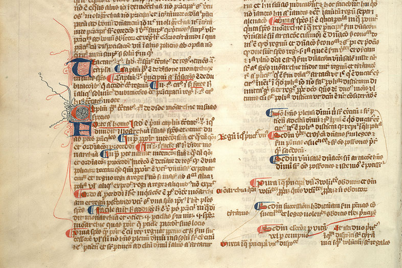 Paris, Bibl. Mazarine, ms. 3496, f. 219v