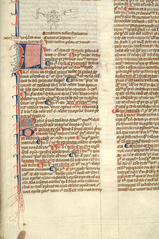 Paris, Bibl. Mazarine, ms. 3496, f. 238