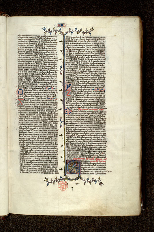 Paris, Bibl. Mazarine, ms. 3796, f. 006