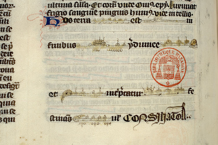 Paris, Bibl. Mazarine, ms. 3796, f. 161v