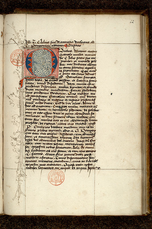 Paris, Bibl. Mazarine, ms. 3848, f. 062