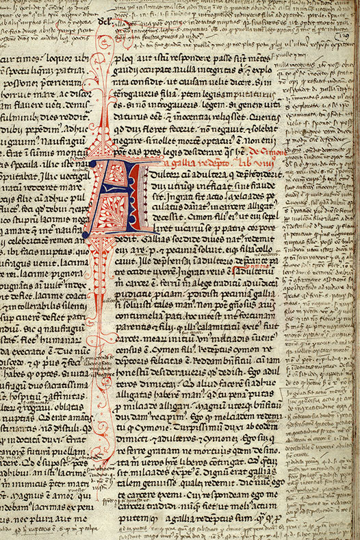 Paris, Bibl. Mazarine, ms. 3855, f. 129