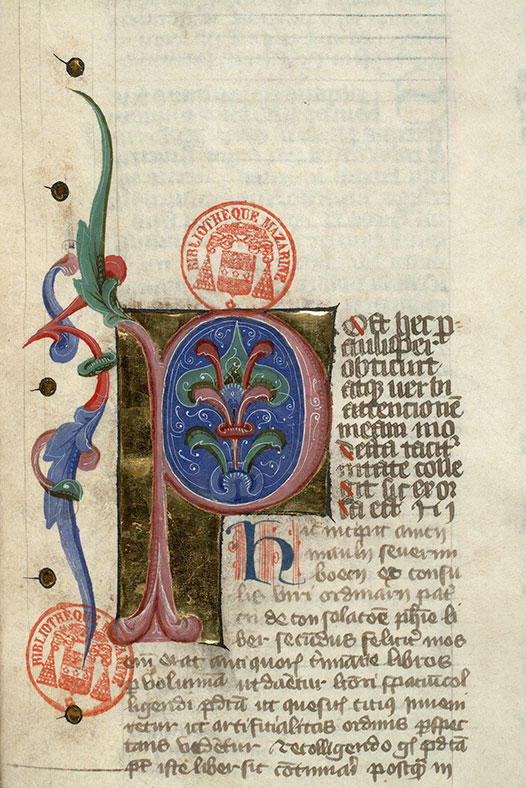 Paris, Bibl. Mazarine, ms. 3859, f. 043