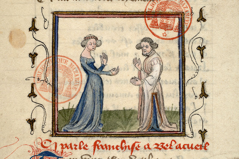 Paris, Bibl. Mazarine, ms. 3872, f. 015v