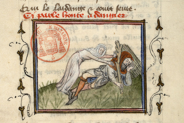Paris, Bibl. Mazarine, ms. 3872, f. 018
