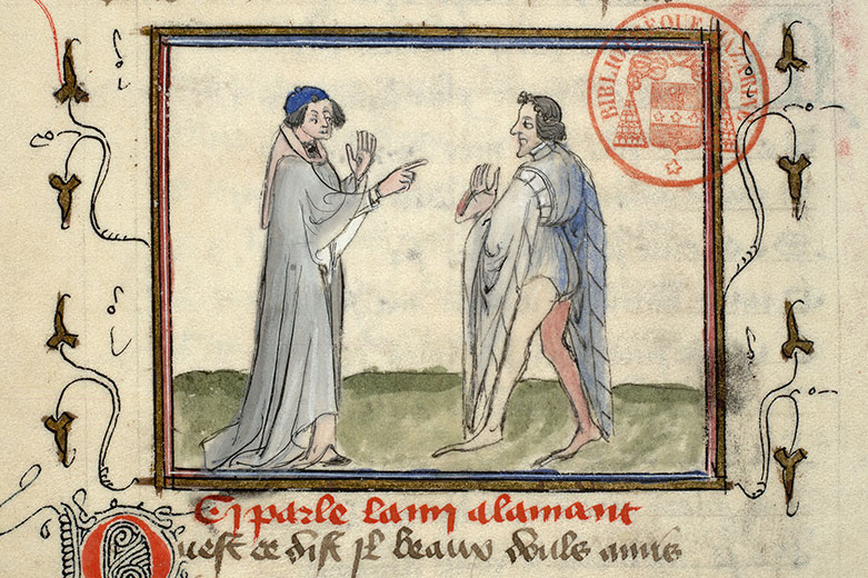 Paris, Bibl. Mazarine, ms. 3872, f. 045v
