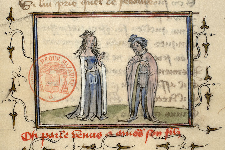 Paris, Bibl. Mazarine, ms. 3872, f. 109v