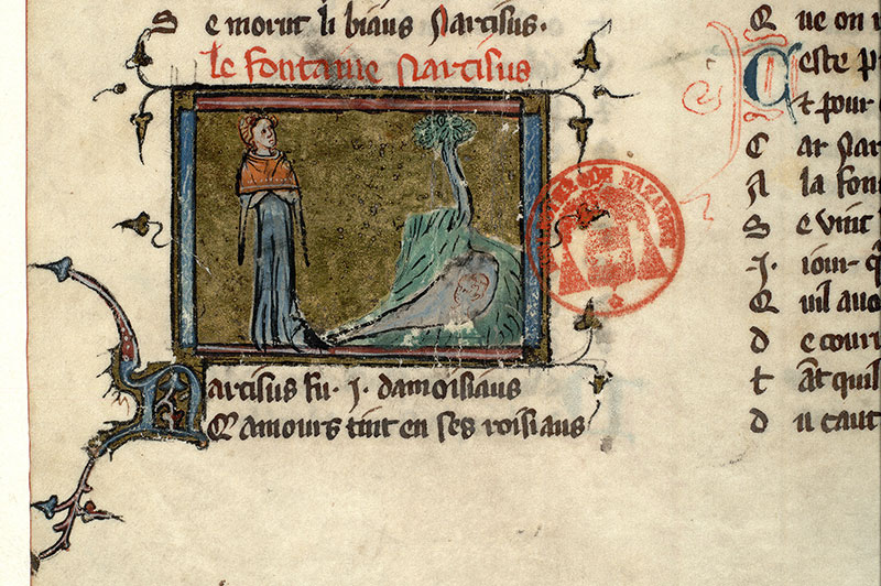 Paris, Bibl. Mazarine, ms. 3874, f. 012v