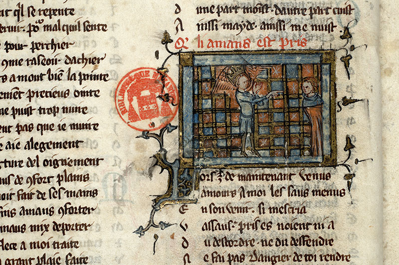 Paris, Bibl. Mazarine, ms. 3874, f. 015v