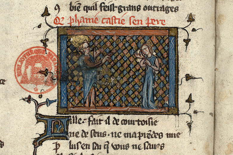 Paris, Bibl. Mazarine, ms. 3874, f. 048v