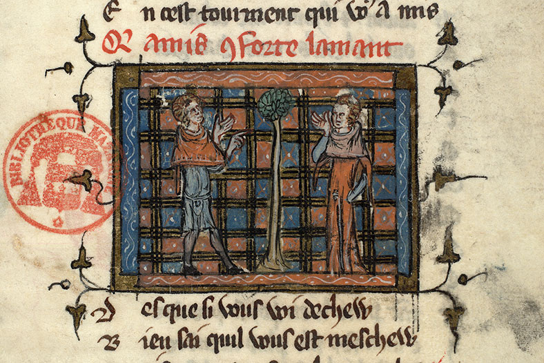 Paris, Bibl. Mazarine, ms. 3874, f. 053
