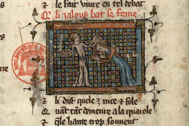 Paris, Bibl. Mazarine, ms. 3874, f. 061v