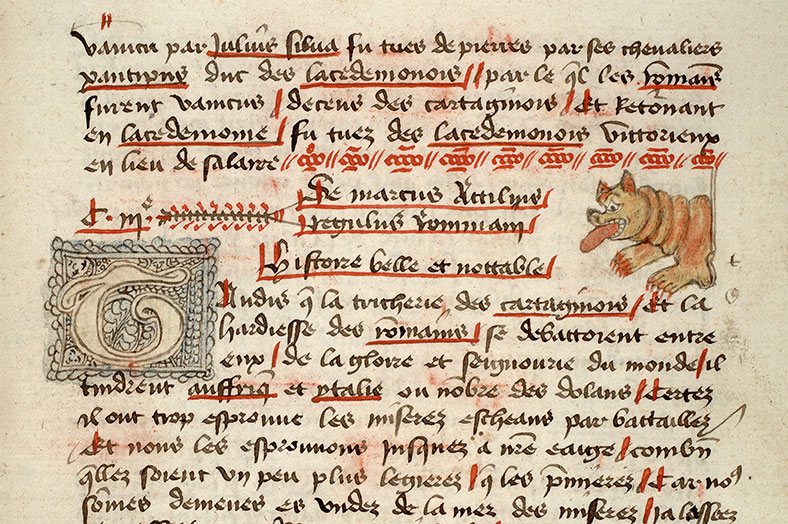 Paris, Bibl. Mazarine, ms. 3880, f. 062