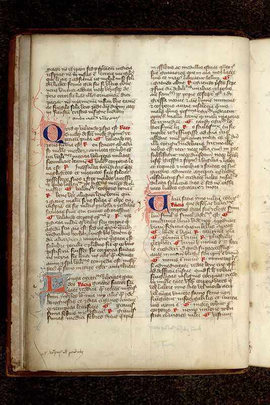 Paris, Bibl. Mazarine, ms. 3881, f. 004v