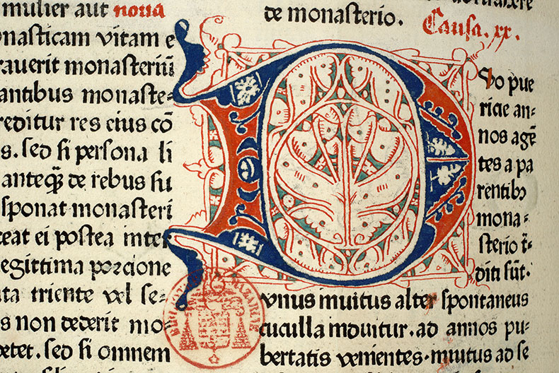 Paris, Bibl. Mazarine, inc. 0047, f. 263v