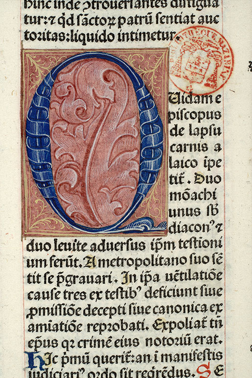 Paris, Bibl. Mazarine, inc. 0159, f. 122