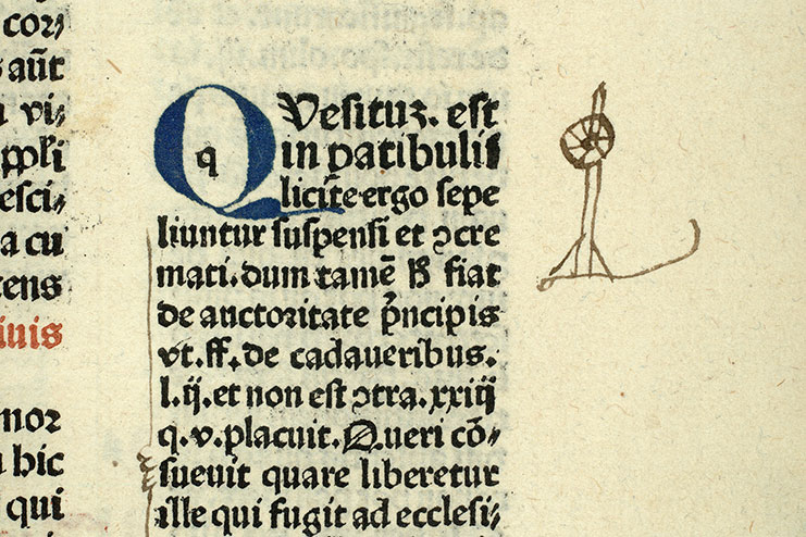 Paris, Bibl. Mazarine, inc. 0286, f. 191