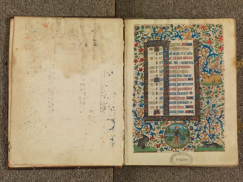 PARIS, Bibliothèque de l'Ecole des Beaux-Arts, Ms. 0482, f. 000Av - 001