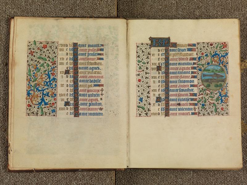 PARIS, Bibliothèque de l'Ecole des Beaux-Arts, Ms. 0482, f. 001v - 002