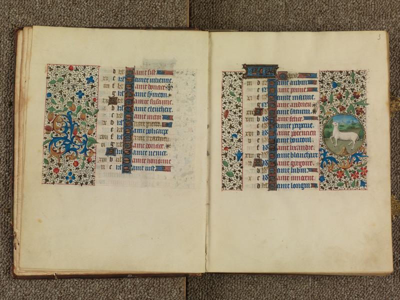 PARIS, Bibliothèque de l'Ecole des Beaux-Arts, Ms. 0482, f. 002v - 003