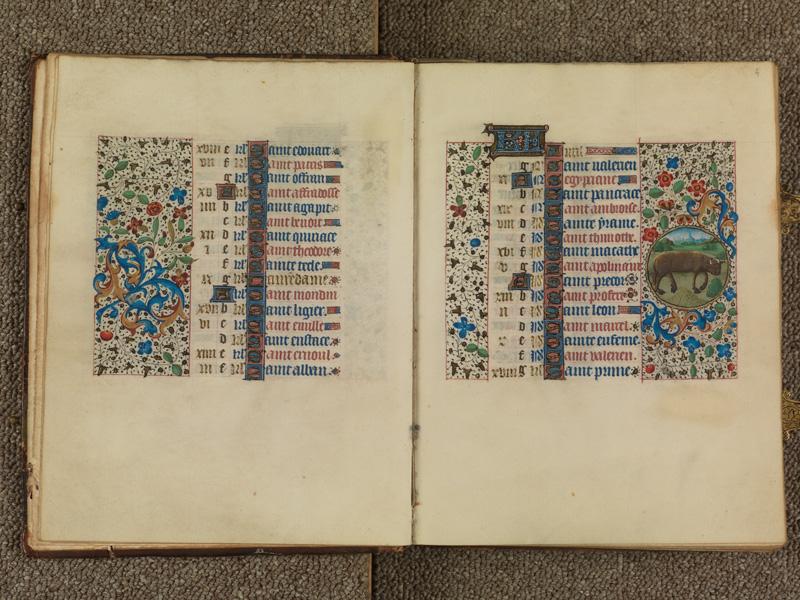 PARIS, Bibliothèque de l'Ecole des Beaux-Arts, Ms. 0482, f. 003v - 004