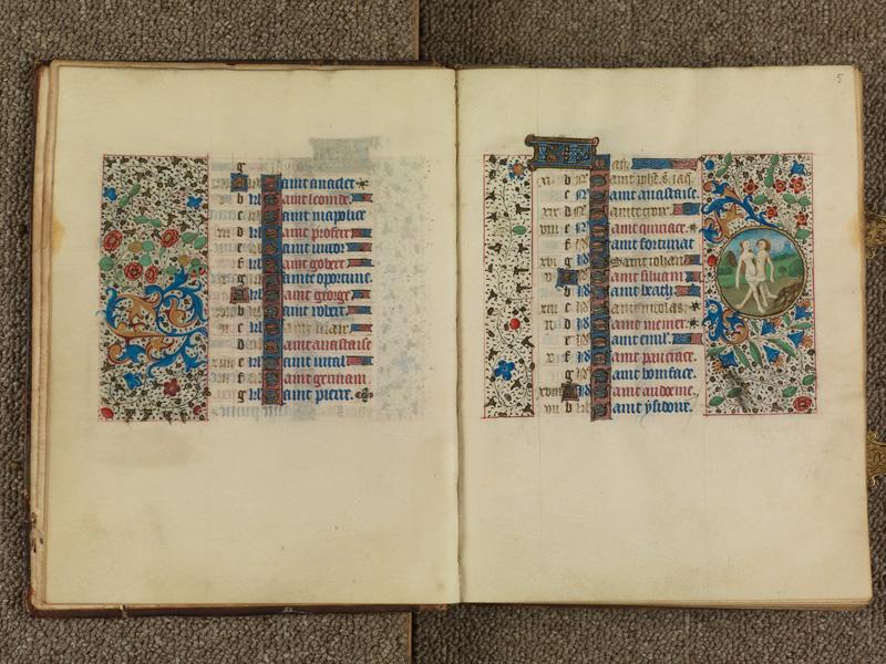 PARIS, Bibliothèque de l'Ecole des Beaux-Arts, Ms. 0482, f. 004v - 005