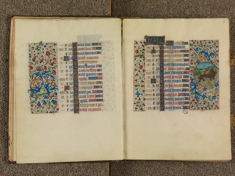 PARIS, Bibliothèque de l'Ecole des Beaux-Arts, Ms. 0482, f. 006v - 007