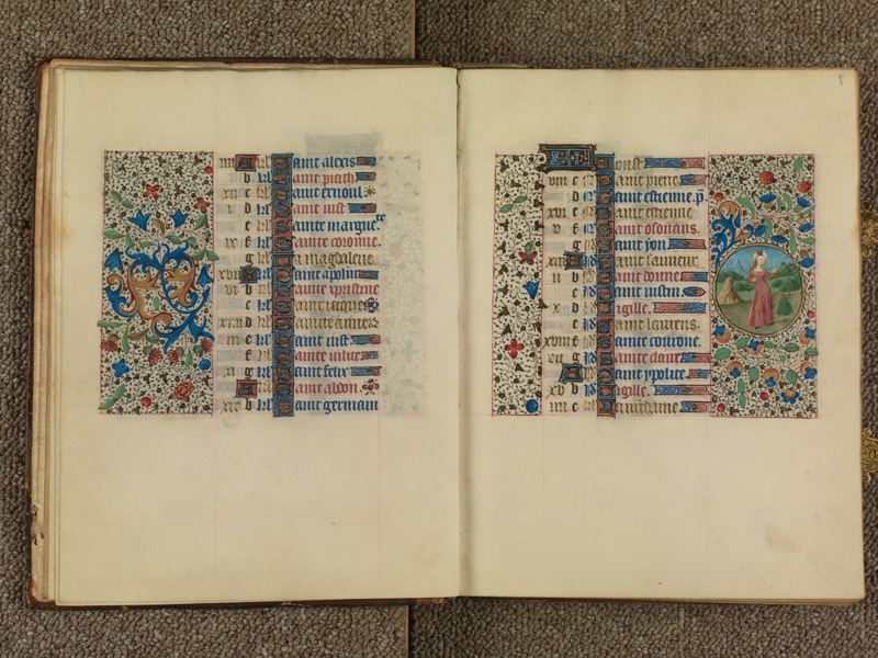 PARIS, Bibliothèque de l'Ecole des Beaux-Arts, Ms. 0482, f. 007v - 008