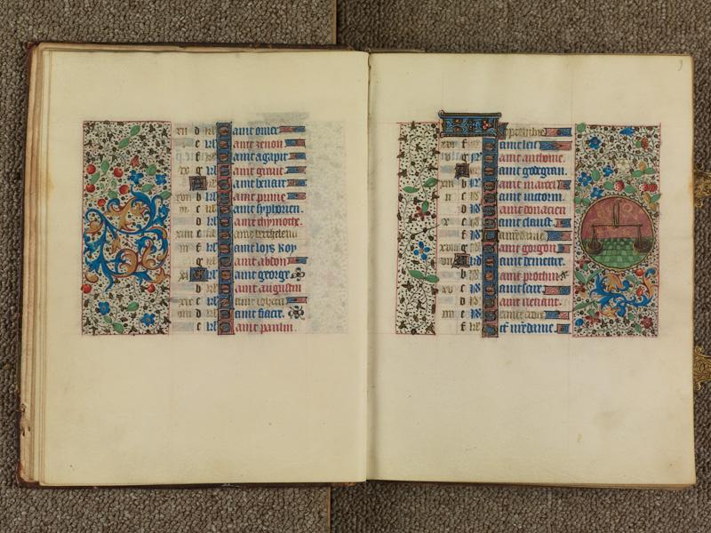 PARIS, Bibliothèque de l'Ecole des Beaux-Arts, Ms. 0482, f. 008v - 009