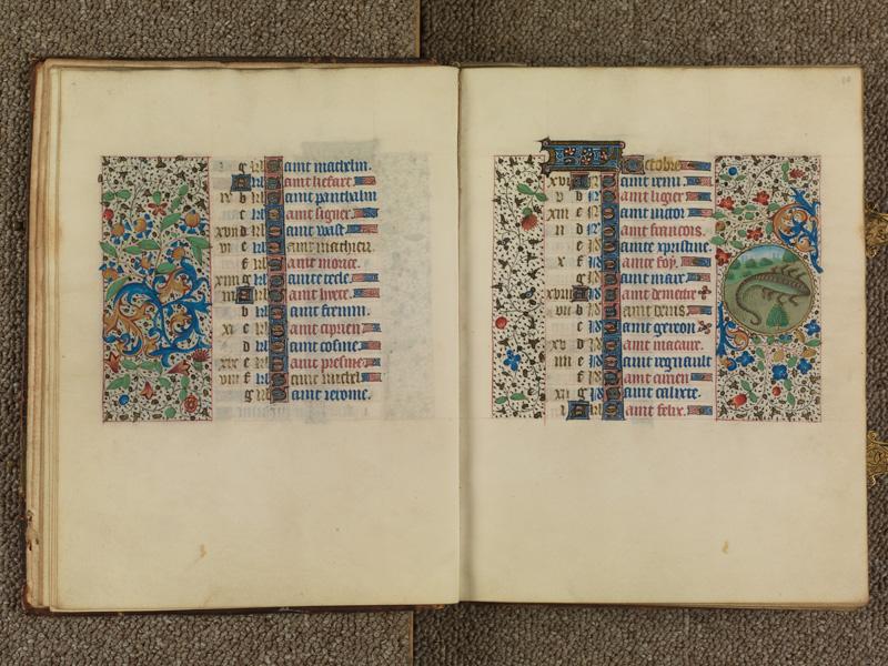 PARIS, Bibliothèque de l'Ecole des Beaux-Arts, Ms. 0482, f. 009v - 010