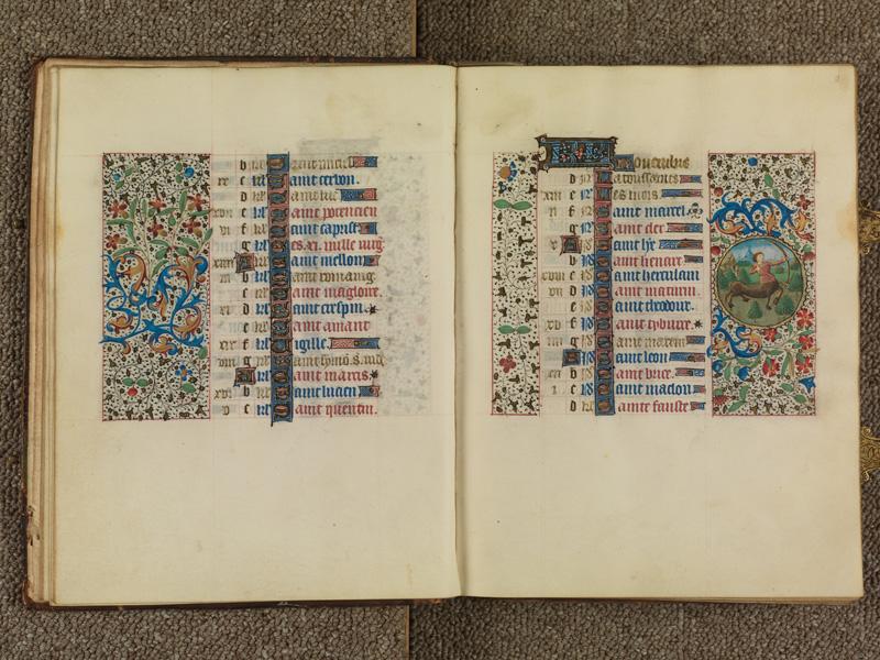 PARIS, Bibliothèque de l'Ecole des Beaux-Arts, Ms. 0482, f. 010v - 011