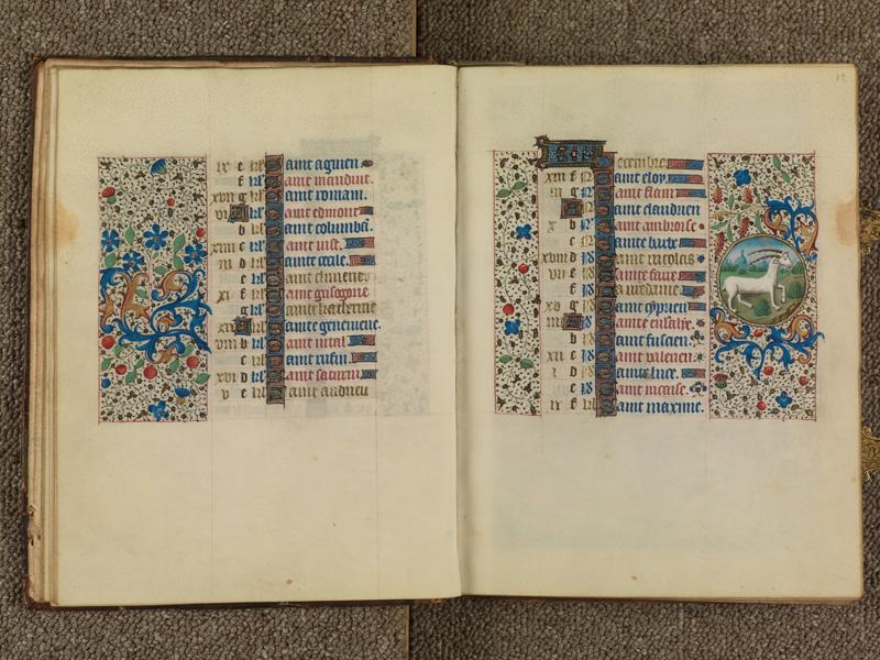 PARIS, Bibliothèque de l'Ecole des Beaux-Arts, Ms. 0482, f. 011v - 012