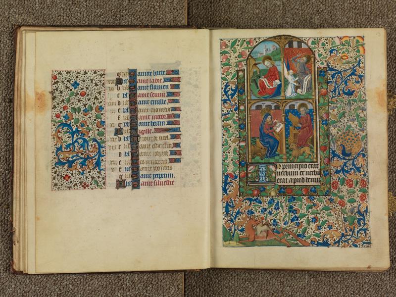 PARIS, Bibliothèque de l'Ecole des Beaux-Arts, Ms. 0482, f. 012v - 013