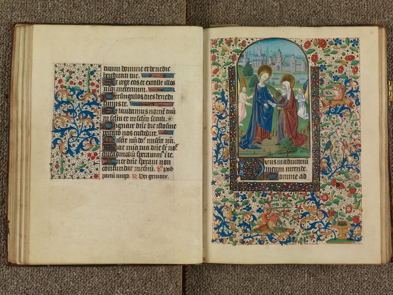 PARIS, Bibliothèque de l'Ecole des Beaux-Arts, Ms. 0482, f. 039v - 040