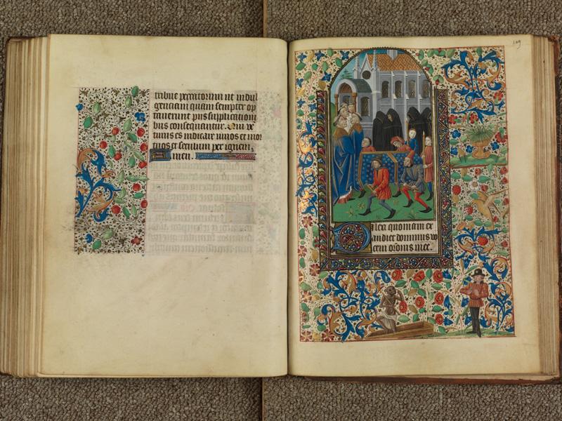 PARIS, Bibliothèque de l'Ecole des Beaux-Arts, Ms. 0482, f. 108v - 109