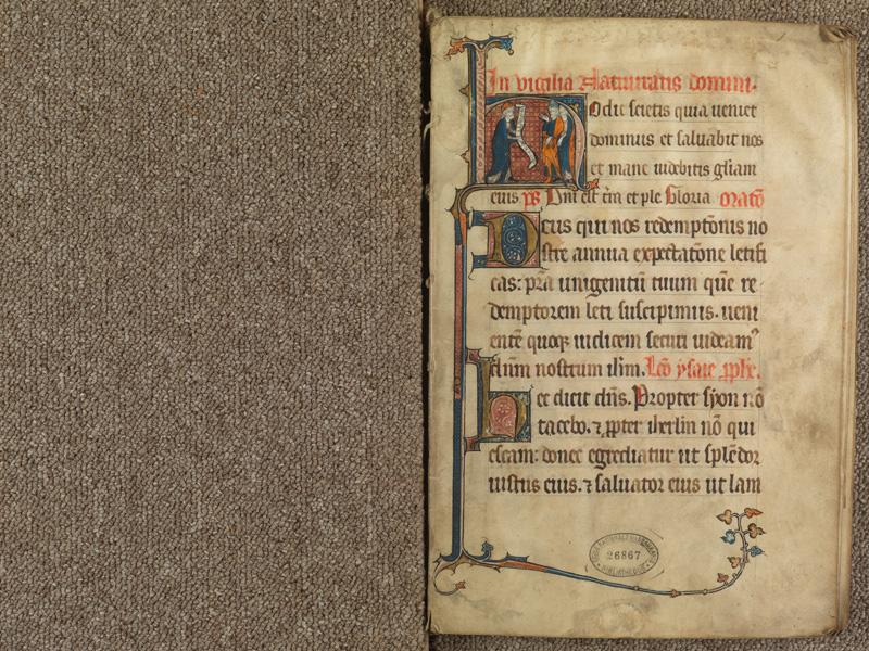 PARIS, Bibliothèque de l'Ecole des Beaux-Arts, Ms. 0625, f. 001
