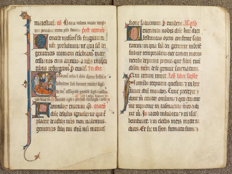 PARIS, Bibliothèque de l'Ecole des Beaux-Arts, Ms. 0625, f. 056v - 057