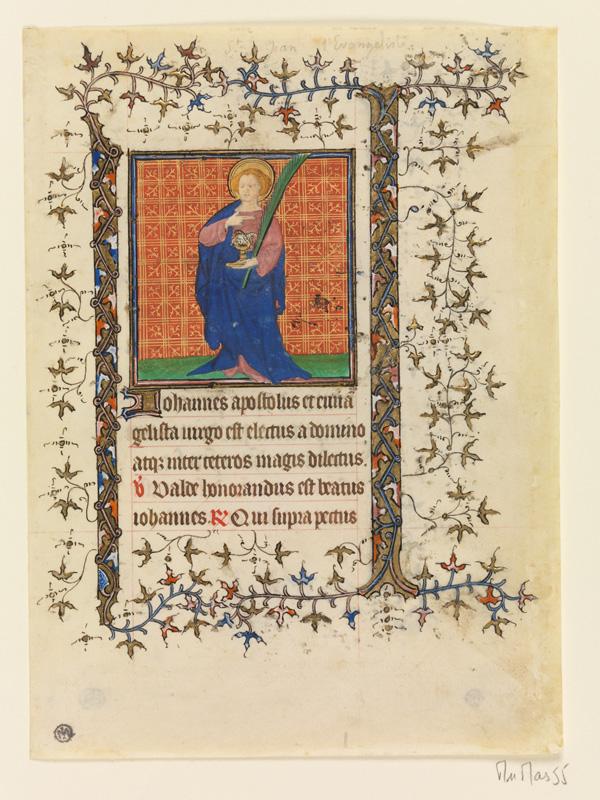 PARIS, Bibliothèque de l'Ecole des Beaux-Arts, Mn.Mas 0055, vue 1