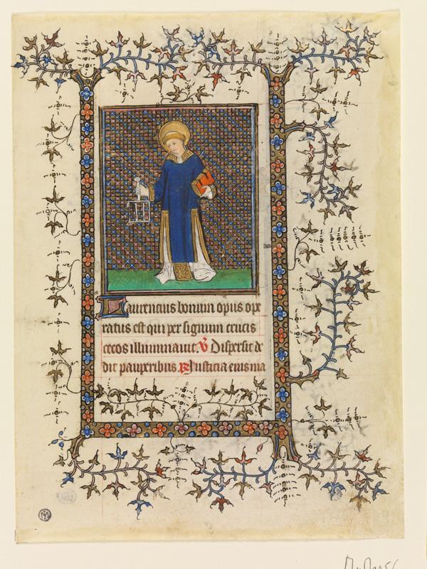 PARIS, Bibliothèque de l'Ecole des Beaux-Arts, Mn.Mas 0056, vue 1