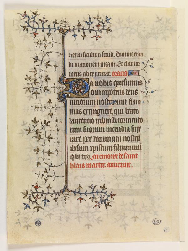 PARIS, Bibliothèque de l'Ecole des Beaux-Arts, Mn.Mas 0056, vue 2
