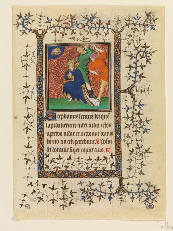 PARIS, Bibliothèque de l'Ecole des Beaux-Arts, Mn.Mas 0057, vue 1