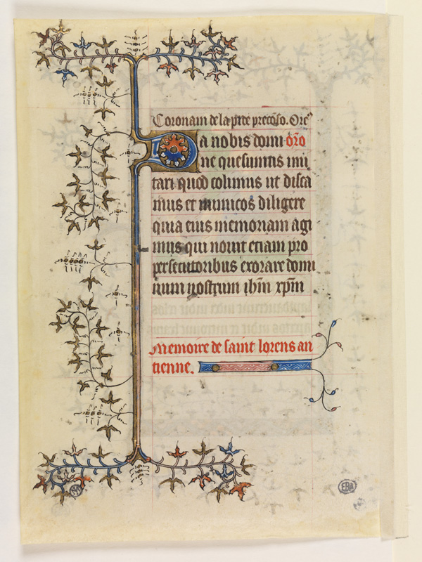 PARIS, Bibliothèque de l'Ecole des Beaux-Arts, Mn.Mas 0057, vue 2