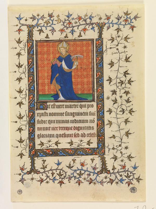 PARIS, Bibliothèque de l'Ecole des Beaux-Arts, Mn.Mas 0058, vue 1