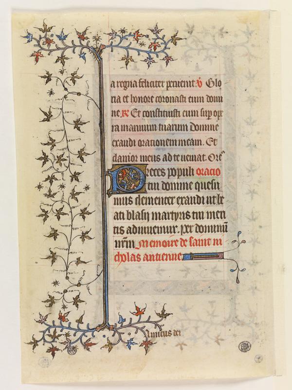 PARIS, Bibliothèque de l'Ecole des Beaux-Arts, Mn.Mas 0058, vue 2