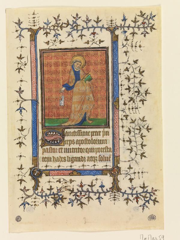 PARIS, Bibliothèque de l'Ecole des Beaux-Arts, Mn.Mas 0059, vue 1