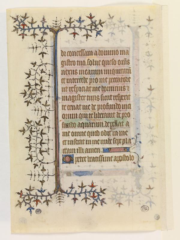 PARIS, Bibliothèque de l'Ecole des Beaux-Arts, Mn.Mas 0059, vue 2