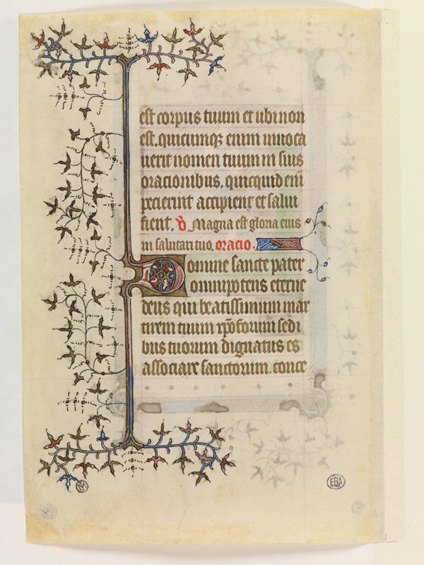PARIS, Bibliothèque de l'Ecole des Beaux-Arts, Mn.Mas 0060, vue 2
